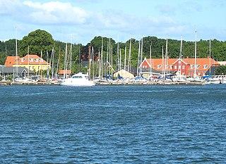 Guldborg Village in Zealand, Denmark