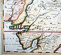 "Gulf of Khambhat - to get a sense of map detail consider that the distance from Chittaurgarh (here shown as ""Chitor"") to Burhanpur (here shown as ""Brampore"") at lower right.jpg"