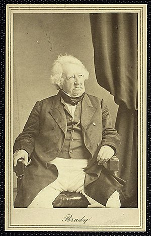 Gulian C. Verplanck - Portrait of Verplanck by Mathew Brady