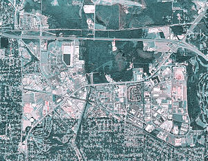 Gunter Annex - USGS Airphoto of Gunter AFB, 2006