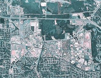 Gunter Annex - USGS Airphoto of Gunter AFB, 2006