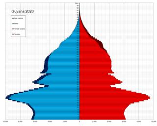 Demographics of Guyana