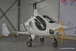 Russian Gyroplanes Gyros-2 Smartflier - Gyros-2 Smartflier with six-bladed propeller