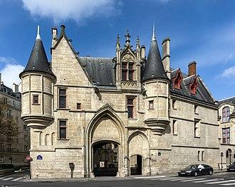 Hôtel de Sens - Front facade