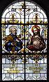 Hürbel Pfarrkirche Fenster Apostel Petrus mit Jesus.jpg