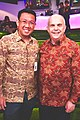 H.E. Tirta BambangWirawan (Corps Diplomatic) & H.E. Joseph R. Donovan Jr. (U.S Ambassador).jpg
