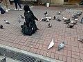 HK 中環 Central 德輔道中 39 Des Voeux Road Central 德忌利士街 Douglas Street freedom pigeons December 2019 SS2 07.jpg
