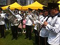 HK 禮賓府 Government House 開放日 Open Day Uniform in white live band April-2012.jpg