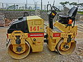 HK Central Dynapac CC122 road repair machine Sakai road roller May 2013.JPG