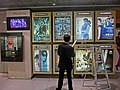 HK Central Palace IFC movie posters night mall Nov-2013.JPG