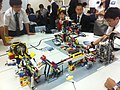 HK Mid-levels Bonham Road 聖保羅書院 Saint Paul's College 開放日 Exhibition Day Lego robot Nov-2011.jpg