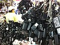 HK SSP 深水埗 Sham Shui Po 桂林街 Kweilin Street 鴨寮街 Apliu Street Nov-2013 Second hand market power re-chargers 03.JPG