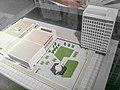 HK TST HKHDC 香港文物探知館 Hong Kong Heritage Discovery Centre - exhibit building model City Hall Aug-2013.JPG