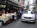 HK Yaumatei 新填地街 Reclamation Street market Benz S500 h.jpg