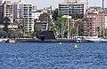 HMAS Farncomb (SSG 74) in Elizabeth Bay.jpg