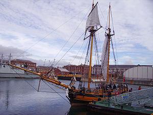 HMS Pickle (1800) - Image: HMS Picklereplica