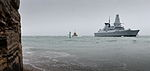 HMS Duncan Arriving in Portsmouth MOD 45155245.jpg