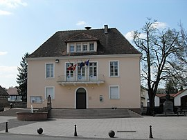 The town hall in Habsheim
