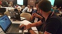 Hackathon atr Wikimania 20180718 211945 (14).jpg