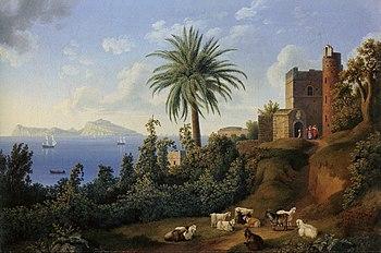 Jacob Philipp Hackert, View of Posillipo on th...