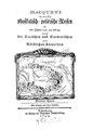Hacquet, Balthasar (1794) - Neueste physikalisch-politische Reisen, In der Jahren 1791, 92 und 93, Durch die Dacischen und Sarmatischen oder Nördlichen Karpathen, Dritter und vierter Theil.pdf