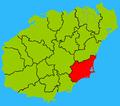 Hainan subdivisions - Wanning.png