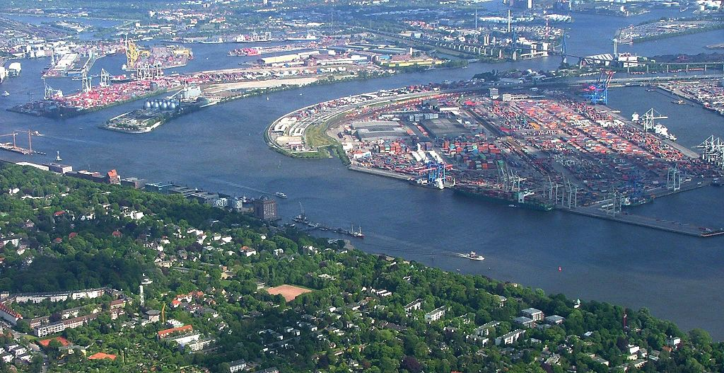 Hamburger Hafen Luftbild