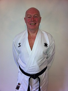 Hamish Telfer Adam Scottish karateka