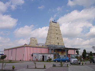 Kamakshi - The Sri-Kamadchi-Ampal-Temple in Hamm