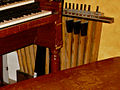 Hammond B-2 25-note pedalboard, detached, Vibe 56 Studio.jpg