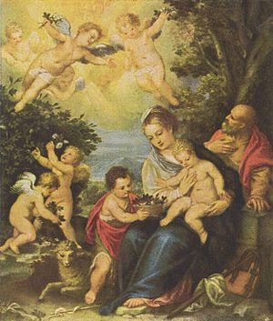 The Holy Family with Child St. John