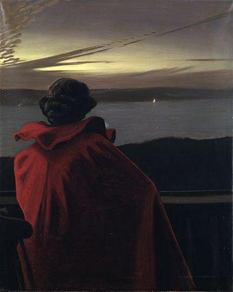 Harald Slott-Moller Sankt Hans aften ved Vejle Fjord 1904.jpg