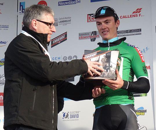Harelbeke - Driedaagse van West-Vlaanderen, etappe 1, 7 maart 2015, aankomst (B32).JPG