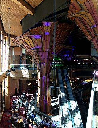 Harrah's Cherokee - Harrah's Cherokee lobby 2014