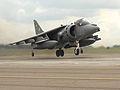 Harrier landing on Mexe Pad at RAF Wittering MOD 45147875.jpg
