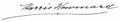 Harris Newmark signature.png