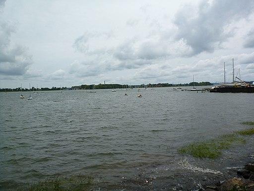 Hart Island NY from City Island