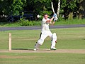 Hatfield Heath CC v. Netteswell CC on Hatfield Heath village green, Essex, England 09.jpg