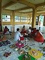 Havan in Gayatri temple.jpg