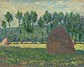 Haystacks at Giverny by Claude Monet (1884-1889) - Pushkin Museum.jpg