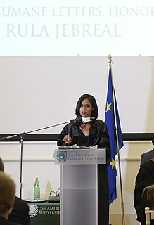 Rula Jebreal Israeli-arab -born Italian writer