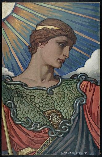 Study (art) - Image: Head of Minerva