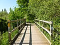 Heading back north across the footbridge - panoramio.jpg