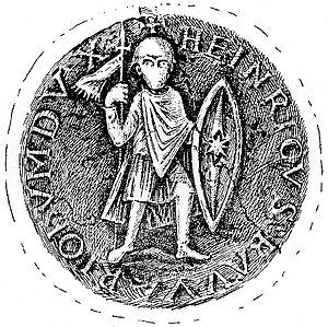 Henry VII, Duke of Bavaria - Seal of Henry VII, Duke of Bavaria.