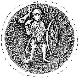 Henry VII, Duke of Bavaria - Seal of Henry VII
