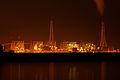 Hekinan coal-fired power plant at nigjt.jpg