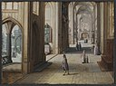 Hendrik van II Steenwijck - Interior of a Gothic Church Looking East - KMSsp366 - Statens Museum for Kunst.jpg