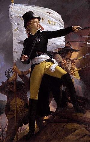 Henri de la Rochejaquelein - Henri de la Rochejaquelein, by Pierre-Narcisse Guérin