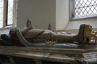 Church of St Michael the Archangel, Framlingham - Tomb of Henry Howard, 1st Earl of Northampton