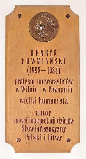Henryk Łowmiański